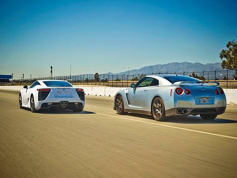 nissan - We pit Lexus' first-ever supercar -- the $400000 Lexus LFA -- against our long-term Nissan GT-R to find out which one is the king of the JDMs. Read the full...
