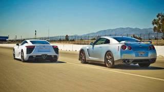8. Drag Race: 2012 Lexus LFA vs 2010 Nissan GT-R