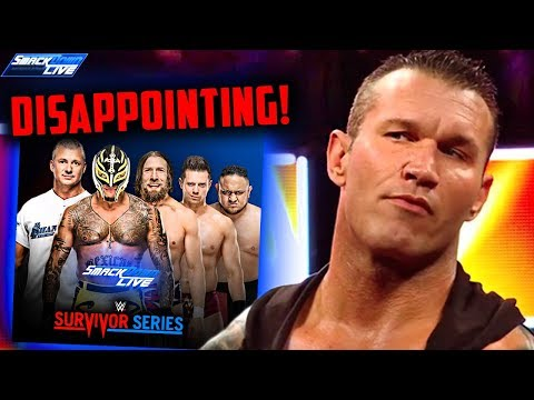 Very DISAPPOINTING SmackDown Live Team! (WWE Smackdown Live Nov. 6, 2018 Review!)