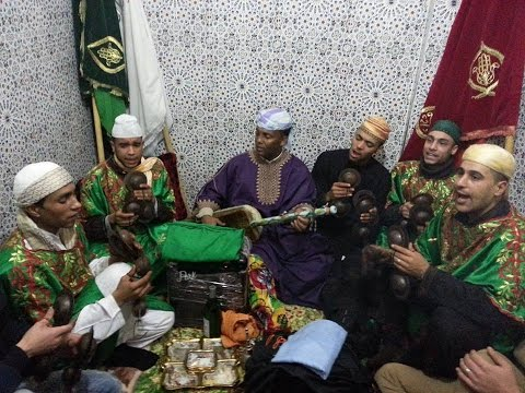 Màalam Said Oughassal -'_ Koubayli Bala _-' & Gnawa Oulad Bambra