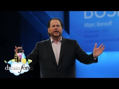 dreamforce - Salesforce.com Chairman and CEO Marc Benioff opens the Business is Social Keynote at Dreamforce '12 talking about how the social revolution is changing busin...