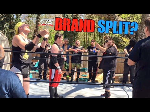 GTS BRAND SPLIT DRAFT! AMAZING YOUTUBE CHAMPIONSHIP WRESTLING MAIN EVENT!