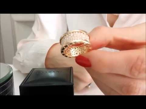 Bulgari B.Zero1 Pavé Set Diamond & 18k Rose Gold Ring