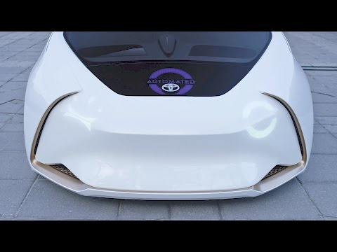 Toyota Concept-i - The Future of Mobility - CES 2017