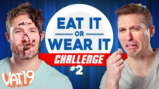 Video Eat It or Wear It Challenge #2 (ft. Spoiled-Milk Cereal and Bug-Filled Diapers) MP3, 3GP, MP4, WEBM, AVI, FLV Agustus 2018