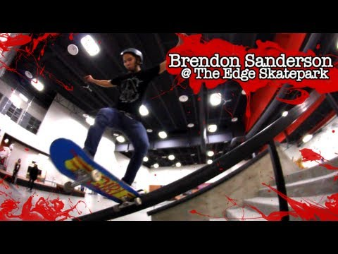 Brendon at The Edge Skatepark!! 2013
