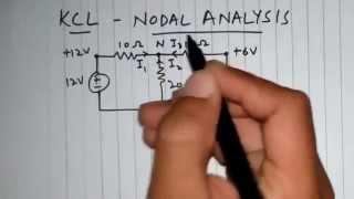 Lesson 01 - Node Voltage Analysis ( KCL ) for Single Node