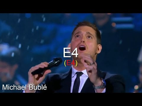 One Signature Singer To Each High Note - Male Version - Part I - Eb4-G#4