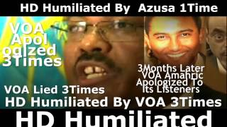 Ethiopia: Hailemariam Desalegn Humiliated By VOA Three Times 10/2014