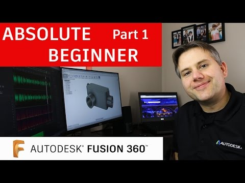 Fusion 360 Tutorial For Absolute Beginners— Part 1