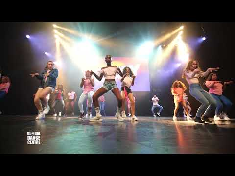 Devante Walden 7/17 (afrodance) - GDC Almere - Eindshow PARTY 2018