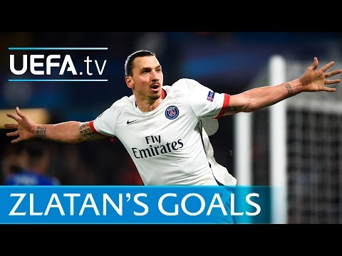 Zlatan Ibrahimović: All Of His Paris Saint-Germain Goals In The UEFA Champions League
