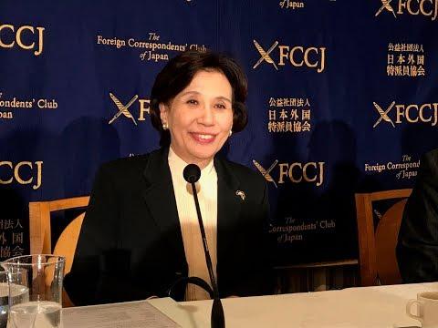 田中眞紀子・元外務相 安倍政権を痛烈批判