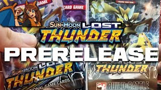 THE BIGGEST SET - Opening 7 Packs of Lost Thunder Pokemon Cards at a Lost Thunder Prerelease! by Flammable Lizard
