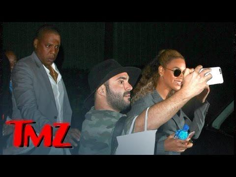 Video - Όταν ο Jay-Z σπρώχνει βίαια θαυμαστή που παραπλησίασε τη Beyonce