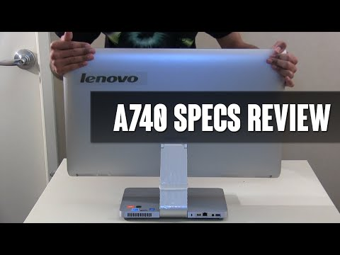 Lenovo A740 AIO Specs Review!