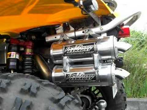 Can Am Renegade 800 with LTE Dual Exhausts & AAEN Quiet-Core