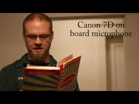 Canon 7d Audio Mic test 2 with zoom h4n, Sennheiser ME66, and Azden SGM-2X – DSLR FILM NOOB
