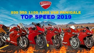 7. Ducati 899 959 1199 1299 V4R Panigale Top Speed 2019