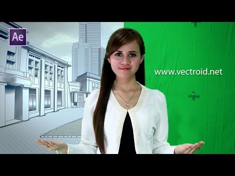 After Effects Tutorial - Basic Chroma Keying Green Screen [INDONESIA]