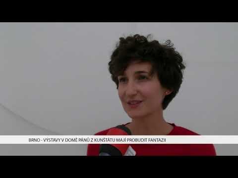 TV Brno 1: 15.11.2017 Výstava v Domě pánů z Kunštátu mají probudit fantazii