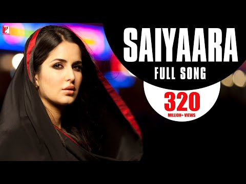 Saiyaara - Full Song | Ek Tha Tiger | Salman Khan | Katrina Kaif | Mohit Chauhan | Taraannum Mallik:  ► Swag Se Swagat Song: http://ascendents.net/?v=xmU0s2QtaEY ► Dil Diyan Gallan Song: http://ascendents.net/?v=SAcpESN_Fk4► Subscribe Now: http://goo.gl/xs3mrY 🔔 Stay updated!The musings of a broken heart is best expressed through this song 'Saiyaara'.Watch Full Movie on: ► Google Play - http://goo.gl/iiA1Gy► iTunes - http://goo.gl/utBIPy🎧 Song Credits:Song: SaiyaaraSingers: Mohit Chauhan, Taraannum MallikMusic: Sohail SenLyrics: Kausar Munir© Yash Raj Films Pvt. Ltd.Stay in the filmy loop:► Like us on Facebook: http://facebook.com/EkThaTiger► Follow us on Twitter: http://twitter.com/EkThaTiger► Follow us on Instagram: http://instagram.com/yrf#KatrinaKaif #YRFnewreleases #yrf🎬 Movie Credits:Starring: Salman Khan, Katrina Kaif, Girish Karnad, Ranveer Shorey & Roshan SethDirector: Kabir KhanProducer: Aditya ChopraScreenplay & Dialogues: Kabir Khan and Neelesh MisraStory: Aditya ChopraMusic: Sohail Sen & Sajid-WajidLyrics: Kausar Munir, Neelesh Misra, Anvita DuttRelease Date: 15 August 2012Synopsis:In the dark world of intelligence and espionage... all information is guarded in the name of national security... But some stories escape the fiercely guarded classified files... stories that become legends.This is one such story... a story that shook the very foundation of this dark world.In a government employees' neighbourhood in New Delhi, there lived a rugged, handsome and mysterious bachelor about whom his neighbours knew nothing. That was because he was India's top spy, an officer with the Research and Analysis Wing (RAW), India's external intelligence agency. This man was known even in official corridors as TIGER (Salman Khan).Tiger is sent on a relatively easy and safe mission to Dublin, Ireland to observe a scientist of Indian origin who is suspected of sharing his research findings with the Pakistan defence establishment. Tiger attempts to meet the scientist but is not successful. He tries to befriend the scientist's part time home caretaker, Zoya (Katrina Kaif). As Tiger begins to get closer to Zoya... he begins to discover his human side.For the first time in his life Tiger falls in love... What follows is a tumultuous journey that Tiger and Zoya embark upon, battling the dark world of intelligence and espionage that forbids its soldiers from falling in love..#Saiyaara #KausarMunir #SalmanKhan #EkThaTiger #SohailSen
