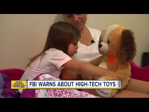 Dangerous teddy bears? FBI issues privacy warning for high-tech 'smart' toys