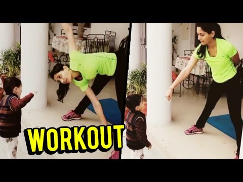 Nikita Dutta aka Suman's Cute WORKOUT Video | Ek D