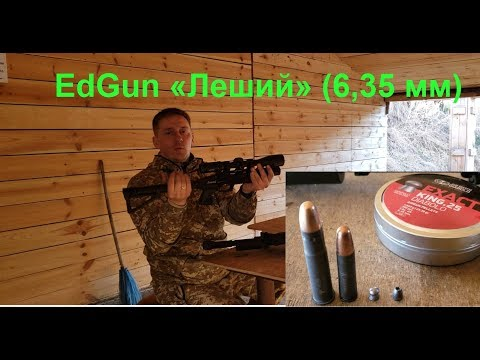 EdGun «Леший» (6,35 мм), впо 209, впо 222. Стрельба на 50 и 100м (видео)