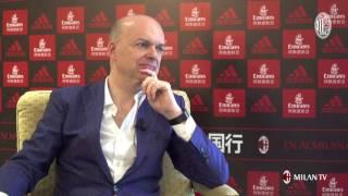 L'A.D. Marco Fassone ha analizzato, ai microfoni di Milan TV l'inizio della sua esperienza alla guida del Club. This is the official...