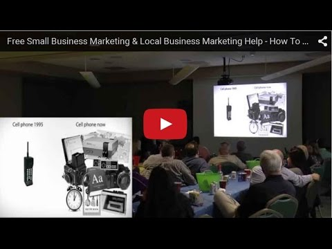 Small Business Marketing & Local Business Marketing Help