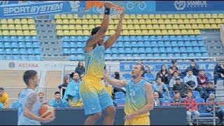Hightlits of the match National league: «Astana»— «Sinegoryie» (2-nd match)