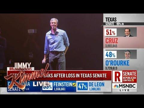 Jimmy Kimmel on Midterm Election Results