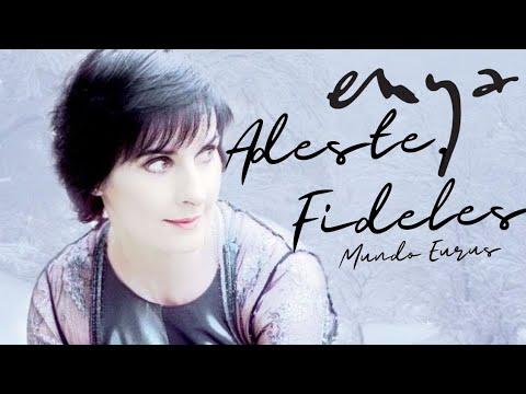 Enya - Adeste, Fideles (English Lyric Video) HD Video