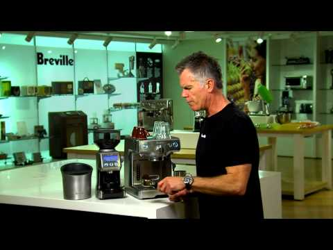 Breville 800ES Coffee Maker Product Demonstration