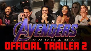 The Avengers: Endgame - Official Trailer - Group Reaction
