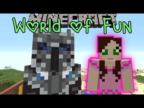 Minecraft: WORLD OF FUN (Custom Map) Part 2