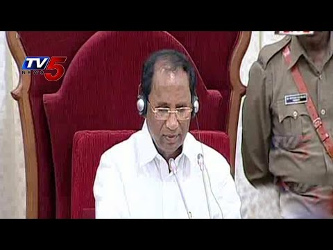 AP Budget Sessions Commence | Speaker Rejects YCPs Adjournment Motion : TV5 News