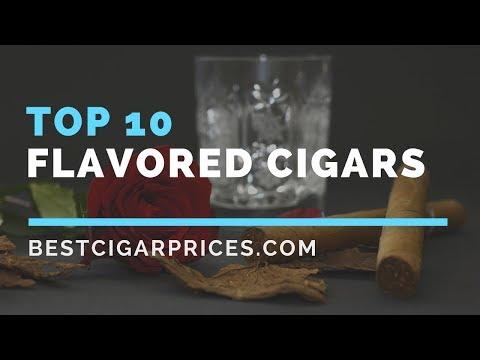 Top 10 Flavored Cigars видео