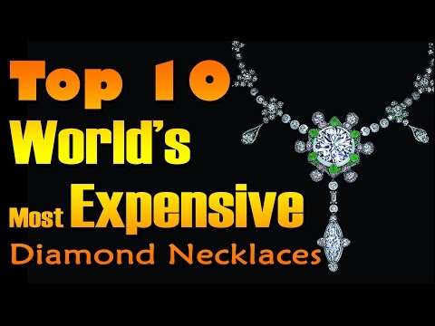 Most Expensive Diamond Necklaces in the World | Nfx Fashion Tv