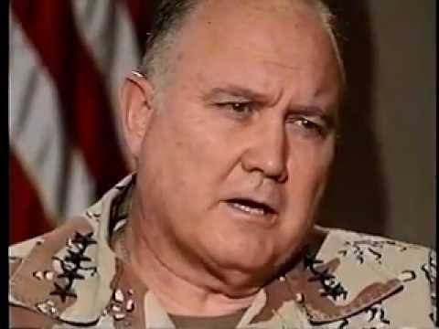 Schwarzkopf - in honor of the passing of this great American patriot, i am uploading this video, Walters conducted this interview soon after the end of the 1991 Gulf War.