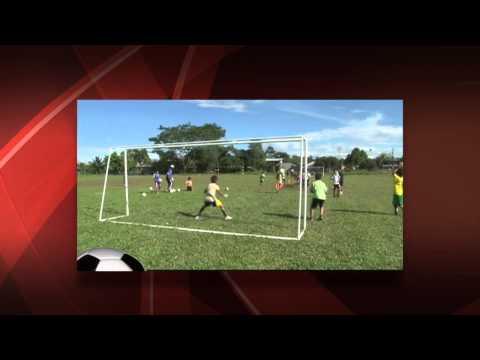 Escuela de futbol cursos vacacionales GADP - SUCUMBÍOS