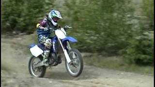 8. 2009 Motocross. Ripping the YZ125. 2 strokes. J-P JACQUES.