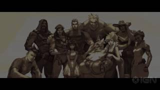 Overwatch: Ana Origins Trailer by IGN