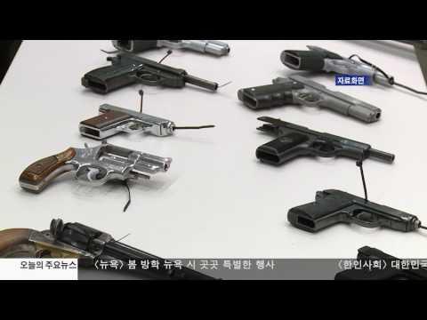 LA 경찰 '시중에서 총기 밀매' 4.13.17 KBS America News