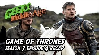 We went LIVE right after the blazing season 7 episode 4 of Game of Thrones and do a wrap up of all the scenes and share our opinions of what we liked and didn't... why lie, we liked it all!