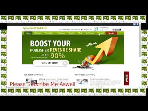 High Revenue For Publishers Clicksor