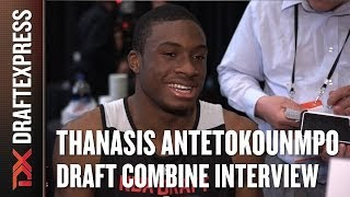 Thanasis Antetokounmpo Draft Combine Interview