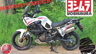 10. Yamaha Super Tenere XT1200Z Yoshimura RS-4 Exhaust vs Stock