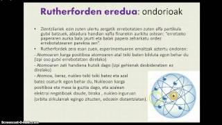 Eredu atomikoak zientziaren historian